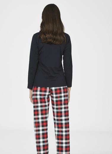 Nbb Pijama Takım Kırmızı